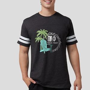 Pi Kappa Phi Palm Chair Person Mens Football Shirt