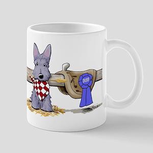 Western Scottie Dog Mug