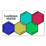 Londinium MMXII Sticker (Rectangle)