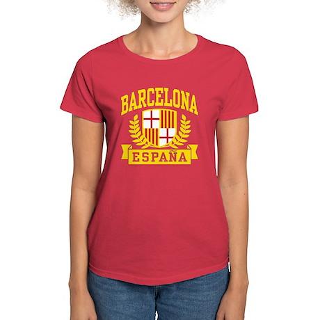 Barcelona Espana Women's Dark T-Shirt
