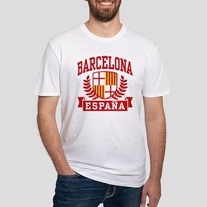 Barcelona Espana Fitted T-Shirt