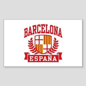 Barcelona Espana Sticker (Rectangle)