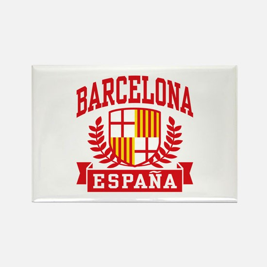 Barcelona Espana Rectangle Magnet
