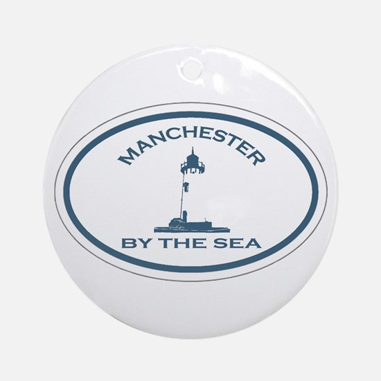 Manchester-By-The-Sea - Oval Design. Ornament (Rou