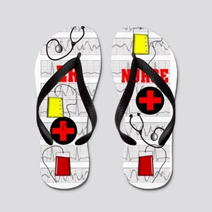 ER Nurse Flip Flops