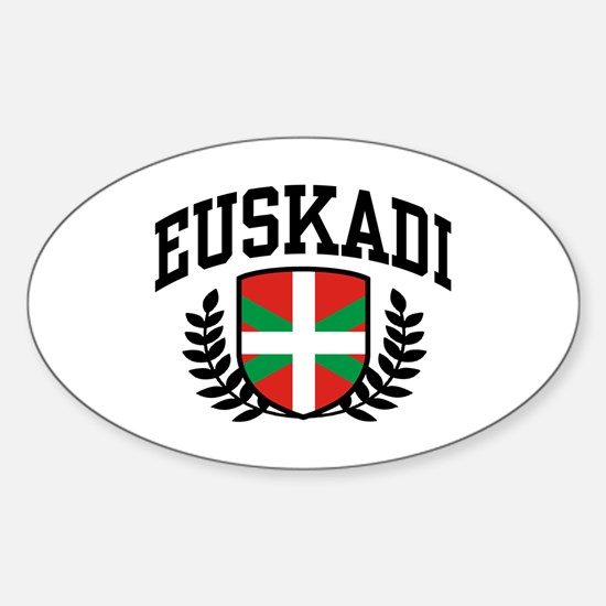 Euskadi Sticker (Oval)