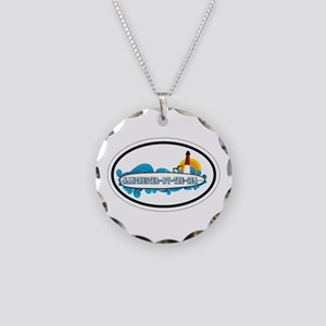 Manchester-By-The-Sea - Oval Design. Necklace Circ