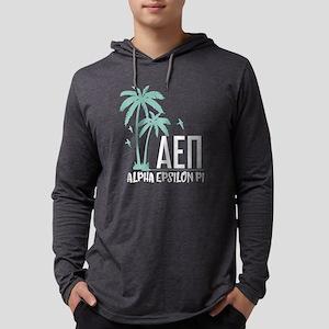 Alpha Epsilon Pi Palm Tree Mens Hooded Shirt