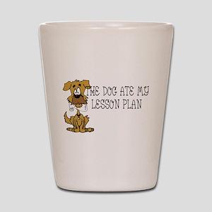 lesson Shot Glass