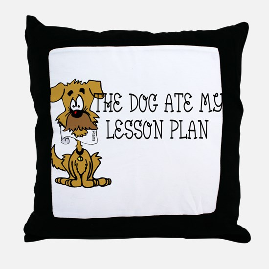 lesson.png Throw Pillow