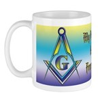 My husband is a Freemason! Mug