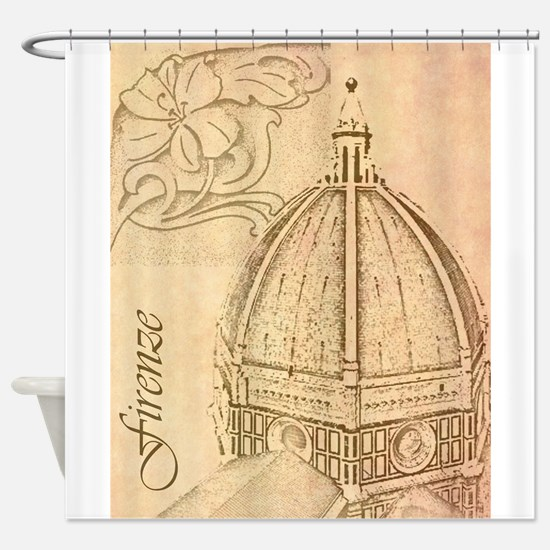 Firenze.jpg Shower Curtain