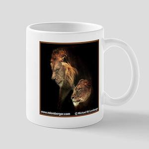 Pair of Lions Mug