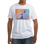 Acrobat3ver1 Fitted T-Shirt