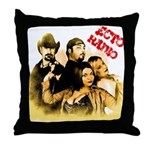 The Hosts of Ecto Radio Throw Pillow
