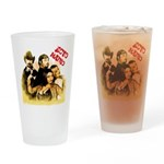 The Hosts of Ecto Radio Drinking Glass