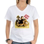The Hosts of Ecto Radio Women's V-Neck T-Shirt