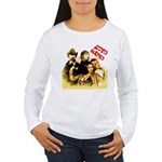 The Hosts of Ecto Radio Women's Long Sleeve T-Shir