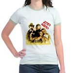 The Hosts of Ecto Radio Jr. Ringer T-Shirt