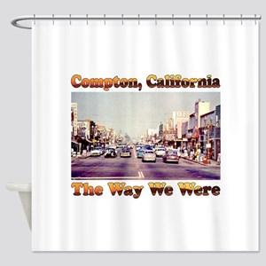Compton The Way We Were Shower Curtain