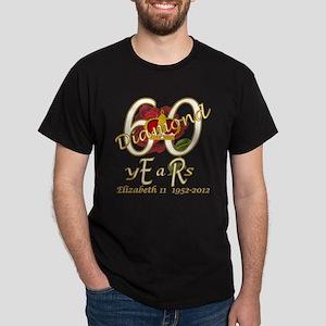 ER 60 Diamond Years 1952_2012_gold T-Shirt