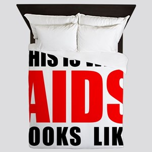 What AIDS looks like Queen Duvet