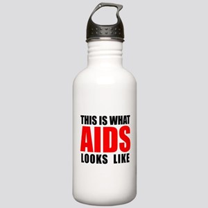 What AIDS looks like Stainless Water Bottle 1.0L