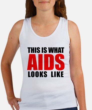 What AIDS looks like Women's Tank Top