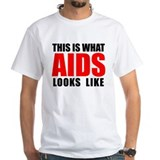 Aids awareness Mens Classic White T-Shirts