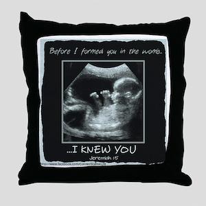 ...I Knew You Throw Pillow
