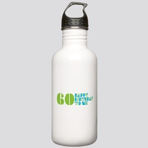 Happy Birthday 60 Stainless Water Bottle 1.0L