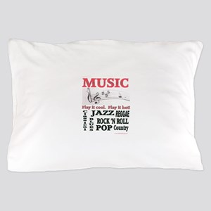 Music Abstract Pillow Case