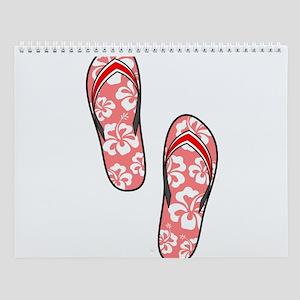 Red Flops Wall Calendar