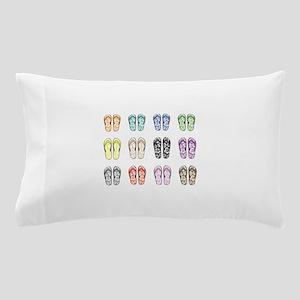 Flippin' Flops Pillow Case