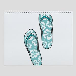 Aqua Flops Wall Calendar