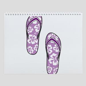 Purple Flops Wall Calendar