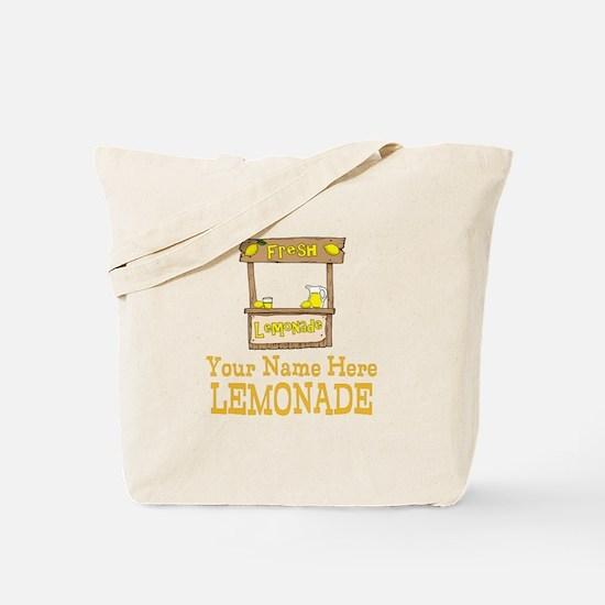 Lemonade Stand Tote Bag