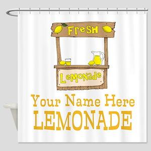 Lemonade Stand Shower Curtain