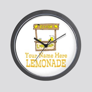 Lemonade Stand Wall Clock