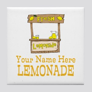 Lemonade Stand Tile Coaster