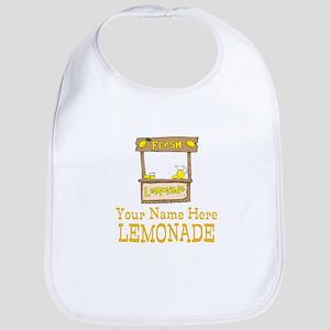 Lemonade Stand Baby Bib