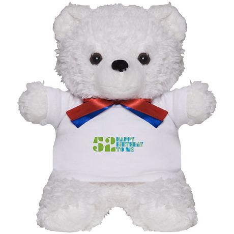 Happy Birthday 52 Teddy Bear