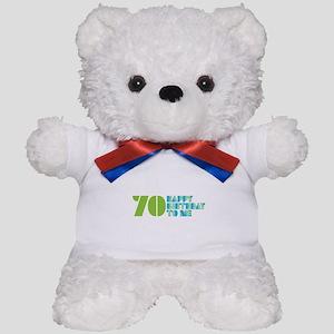 Happy Birthday 70 Teddy Bear