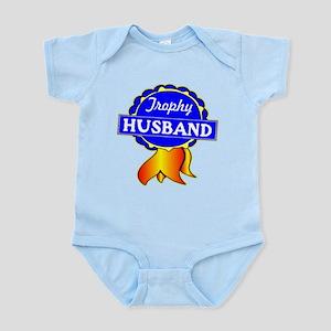 Trophy Husband Ribbon Infant Bodysuit