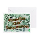 Spending Kids' Inheritance! Greeting Cards (Packag