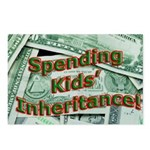 Spending Kids' Inheritance! Postcards (Package of