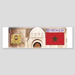 Morocco Sticker (Bumper)