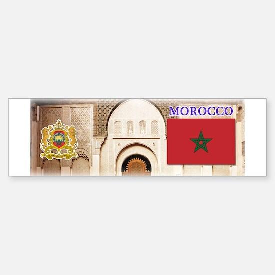 Morocco.jpg Sticker (Bumper)