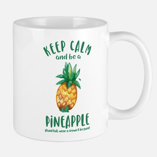 Keep Calm Pineapple Mug