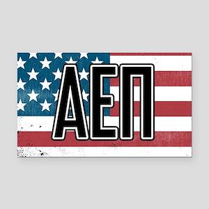 Alpha Epsilon Pi Flag Rectangle Car Magnet